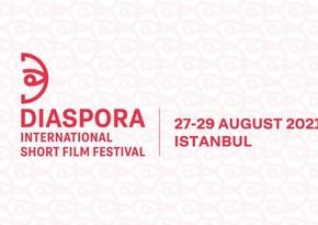 """İstanbulda """"Diaspor - Beynəlxalq Qısametrajlı Film Festivalı"""" keçiriləcək"""