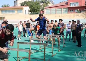 Azerbaijani wrestling teams prepare for World Championship