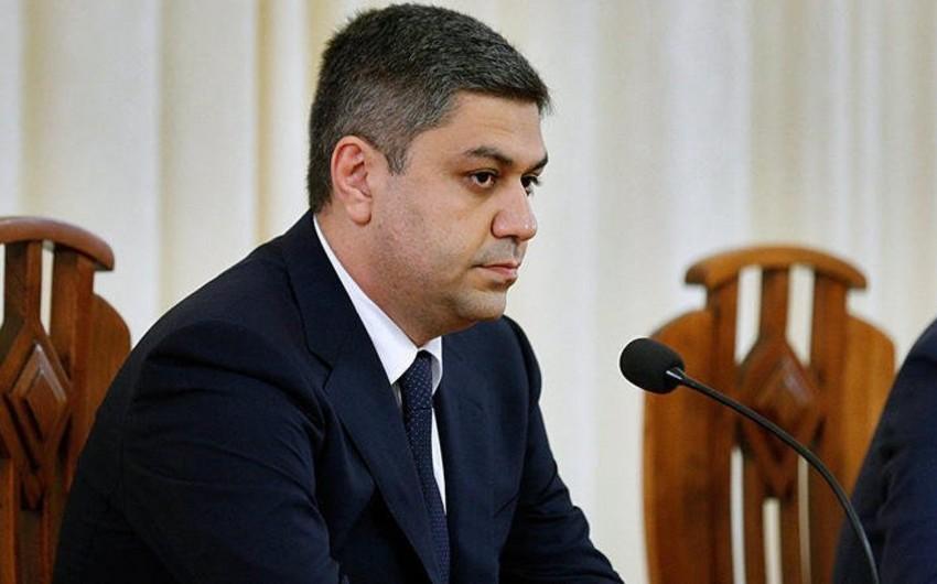 Ermənistanın istefa vermiş hökumət üzvü Nikol Paşinyanı hədələyib