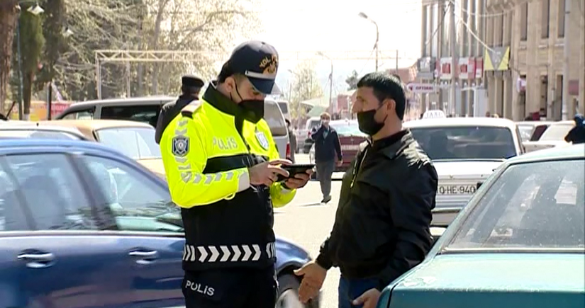 Şəmkirdə yol polisi reyd keçirib