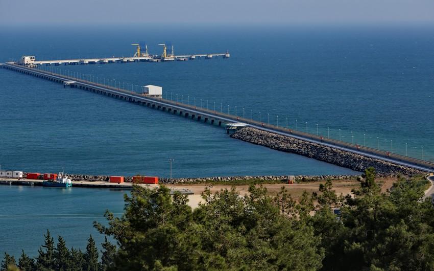 Ötən ay Ceyhan limanından 2 mln. tondan artıq neft dünya bazarına çıxarılıb