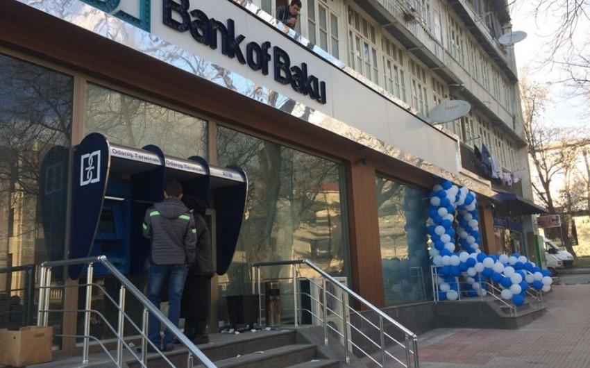 Bank of Bakunun Şəki filialı yeni ünvana köçüb