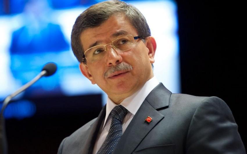 Türkiyənin baş naziri Əhməd Davudoğlu istefa verib