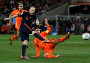 Niderland - İspaniya oyununun yeni tarixi açıqlandı