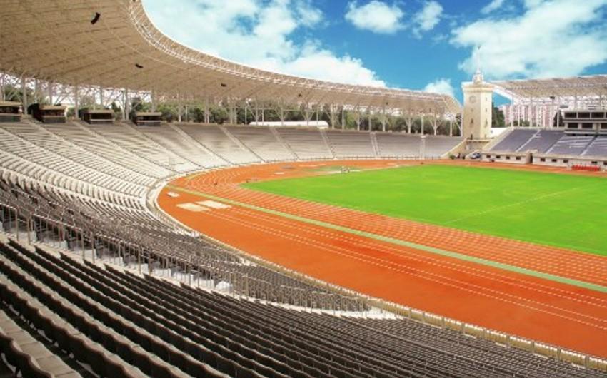 Respublika stadionunda təhvil-təslim işlərinə başlanılıb