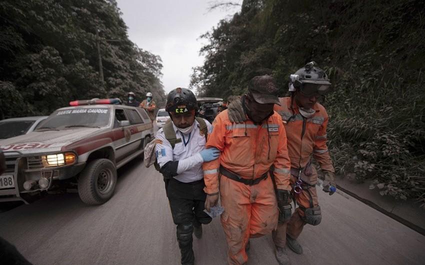 Qvatemalada vulkan püskürməsi nəticəsində ölənlərin sayı 25 nəfərə çatıb - YENİLƏNİB