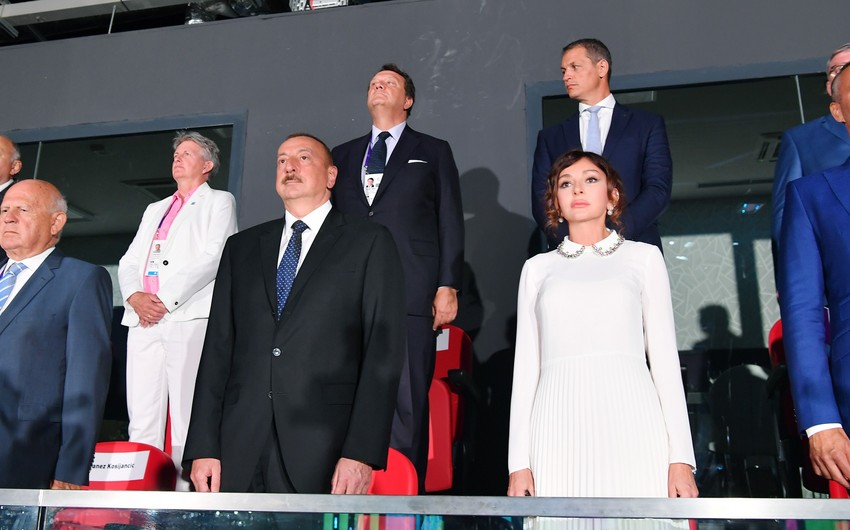 President and first lady attend solemn opening of European Youth Olympic Festival