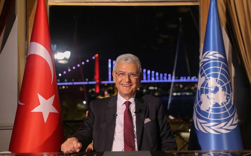 BMT Baş Assambleyasının sədrinin Azərbaycana səfərinin tarixi və proqramı açıqlandı