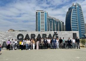 Şəhid və qazi ailələrinin övladları Hərbi Qənimətlər Parkında olub