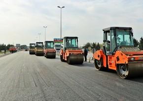 Bakı-Quba yolunun 16-30-cu km-lik hissəsində təmir yekunlaşmaq üzrədir