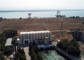 """""""Şəmkir"""" SES-in su anbarı qəzalı vəziyyətdən çıxarılır"""