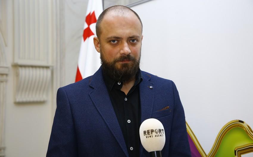Georgian reporter: Strong spirit of Ganja residents made great impression on me