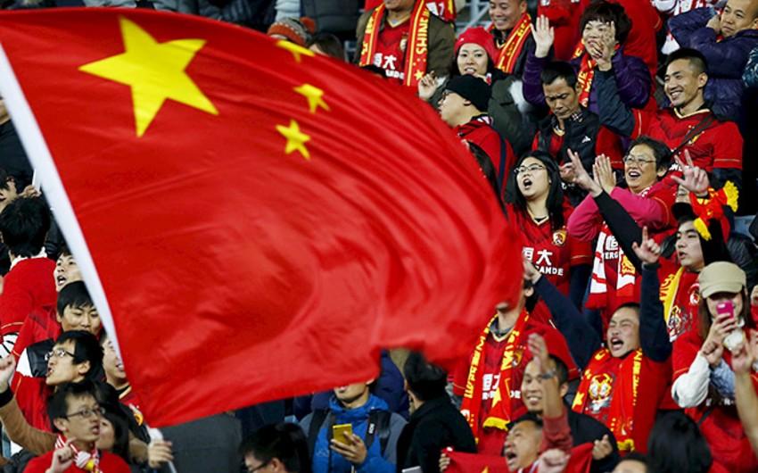 Çin klubu hər bir futbolçusuna 3,25 milyon avro mükafat verib