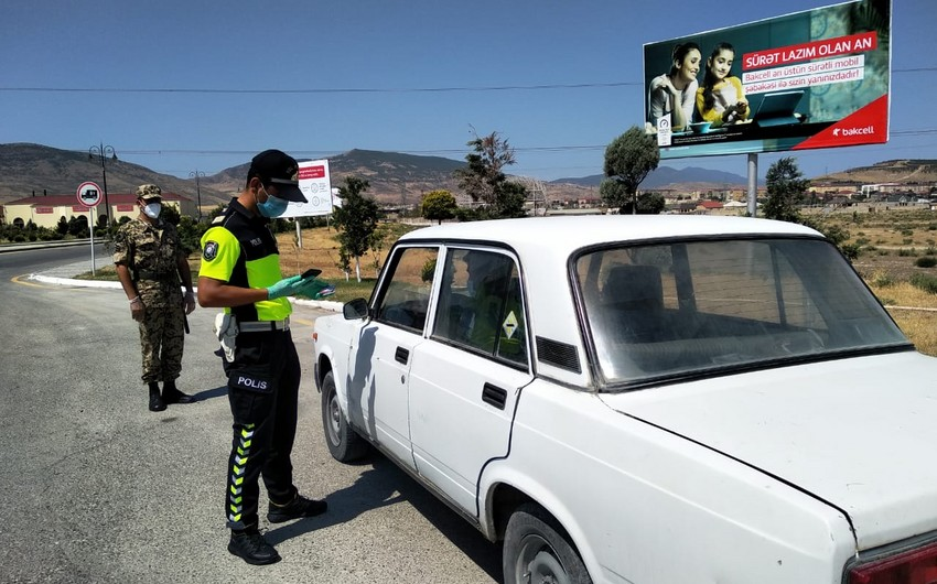 Xaçmaz və Siyəzən polisi gücləndirilmiş iş rejimində çalışır