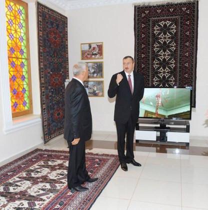 President of Azerbaijan attends opening of Carpet Museum
