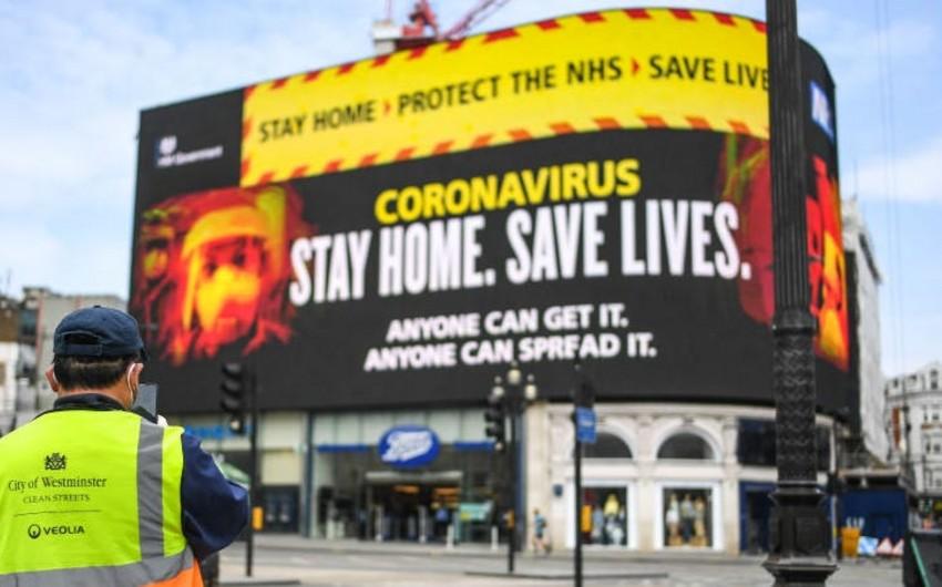 Britaniyada koronavirusla bağlı son statistika