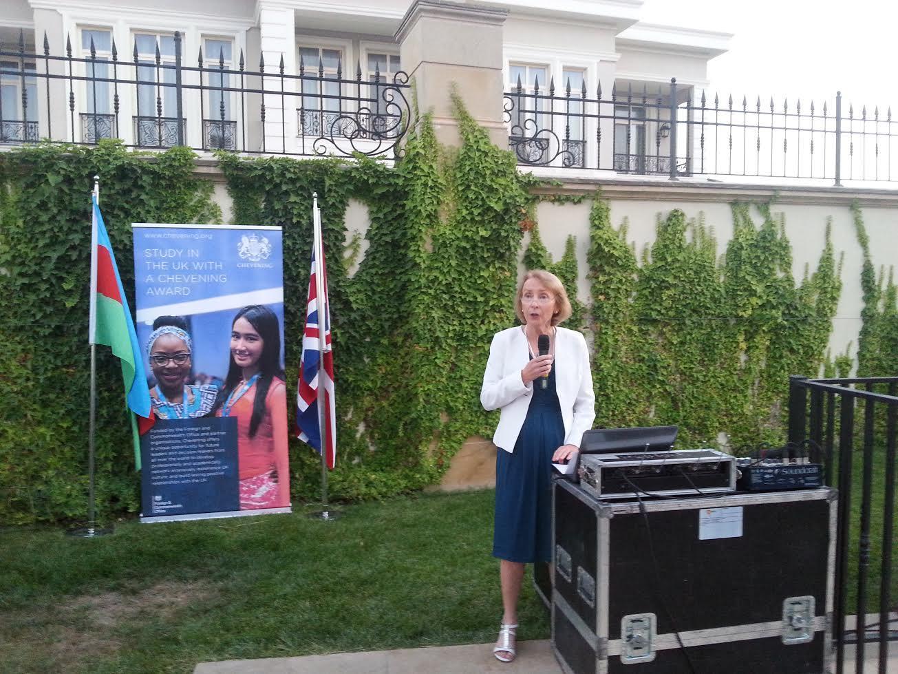 Более 170 азербайджанцев получили в британских вузах по программе Chevening - ФОТО