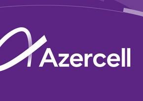 Azercell оказал поддержку абонентам в Гяндже