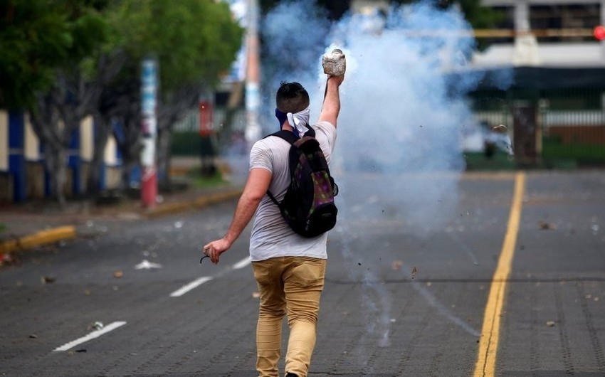 Nikaraquada aksiya iştirakçıları atəşə tutulub, 6 nəfər ölüb