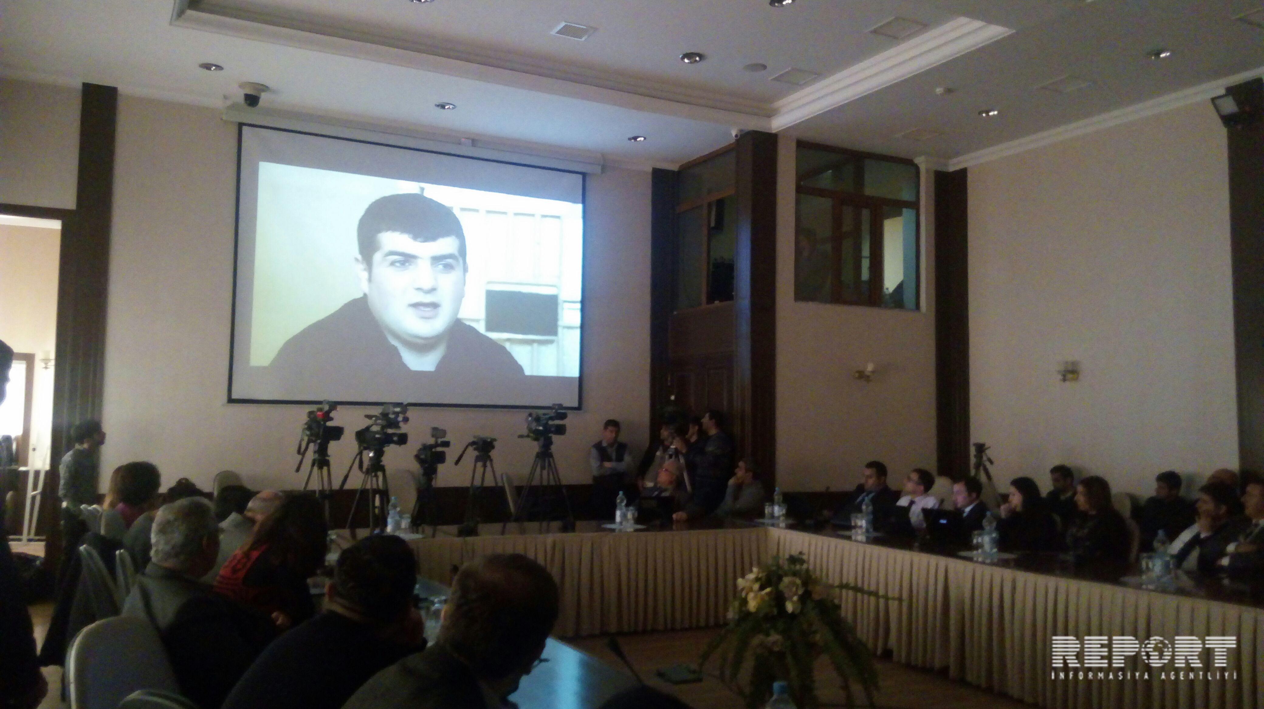 'Karabakh - captives and hostages. Incandescent Cross' film presented