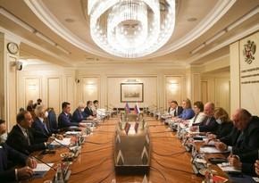 Состоялось заседание межпарламентской комиссии по сотрудничеству между Азербайджаном и Россией