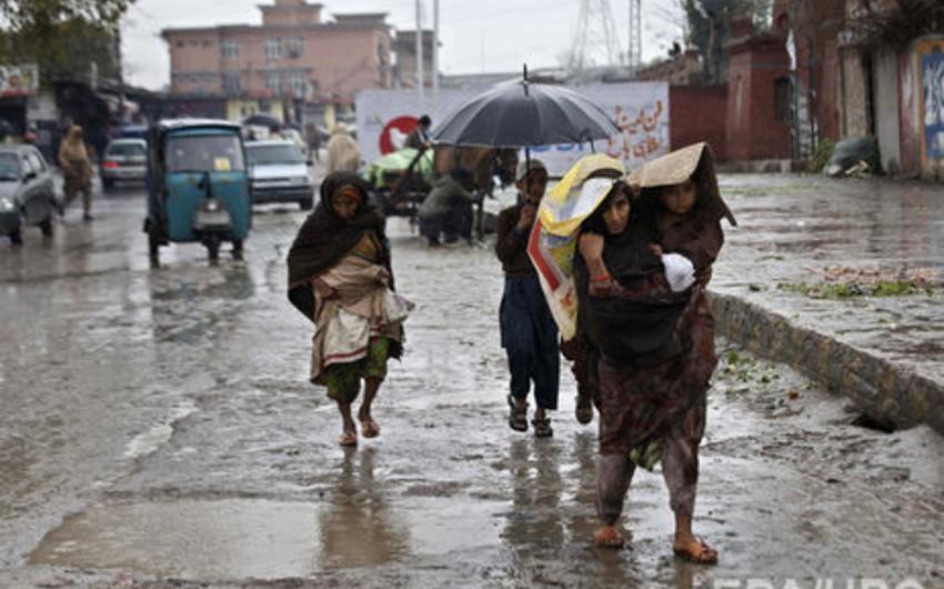 Pakistanda 50-dən çox insan leysan yağışlarının qurbanı olub