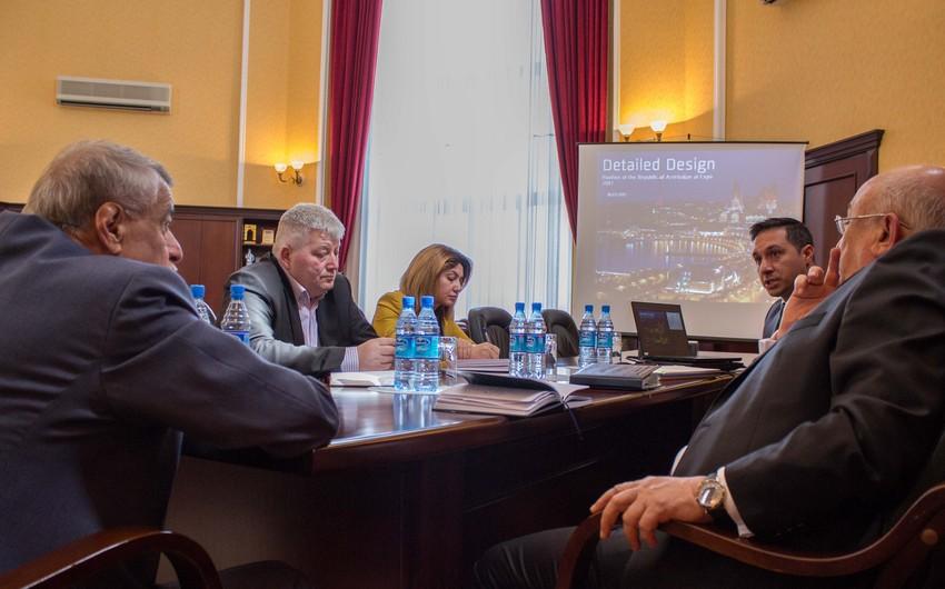 """Energetika Nazirliyində """"Astana EXPO-2017"""" Beynəlxalq Sərgisinə hazırlıq məsələləri müzakirə edilib"""