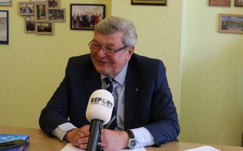 Ректор украинского вуза: Нужно придать новую динамку партнерству с Азербайджаном - ИНТЕРВЬЮ