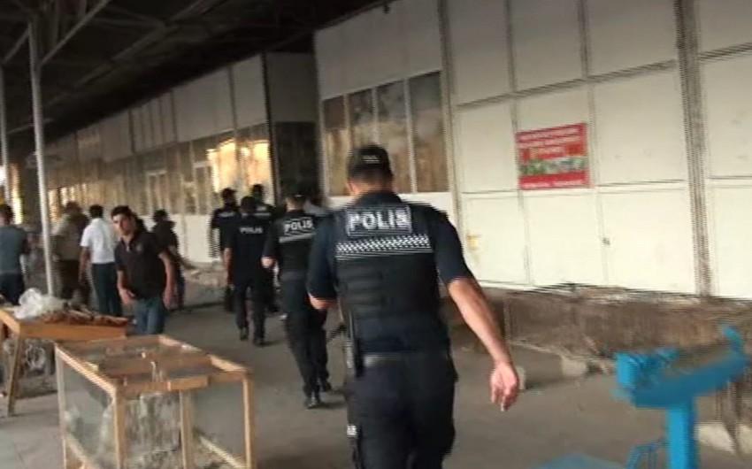 DİN: İmişlidə yanğın zamanı beş polis əməkdaşı tüstüdən zəhərlənib