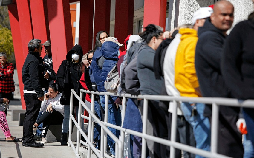 US jobless claims drop below one million for first time