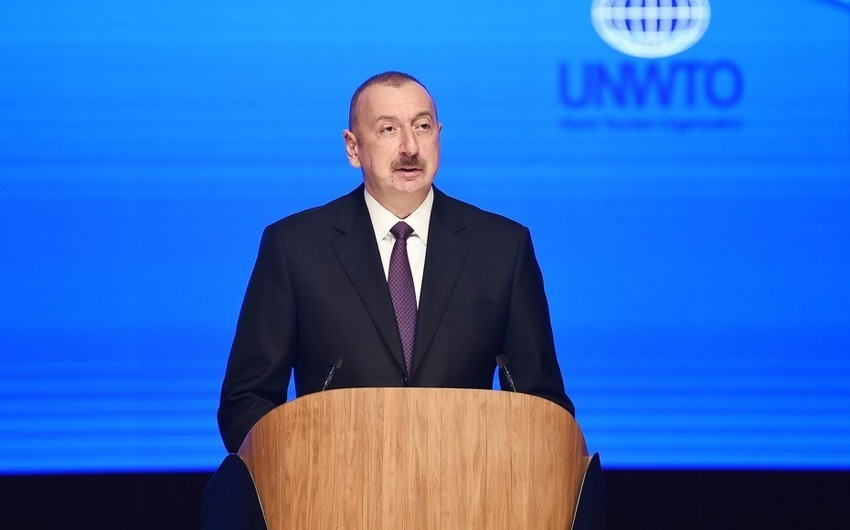 Prezident İlham Əliyev: Qarabağ münaqişəsinin yaratdığı problemlərə baxmayaraq Azərbaycan sürətlə inkişaf edir