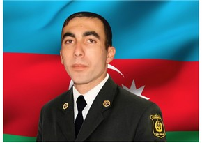Ставший шехидом сержант Внутренних войск МВД Азербайджана