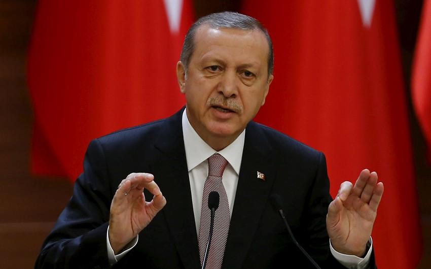 Erdogan: Terrorists are leaving northern Syria
