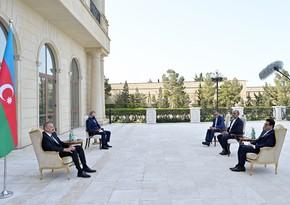 İlham Əliyev: Tarixi-dini abidələrimizin Ermənistan tərəfindən dağıdılması bütün müsəlman dünyasına qarşı edilən cinayətdir