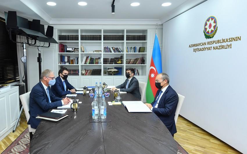 Azərbaycan-Almaniya iqtisadi əməkdaşlığı müzakirə edilib