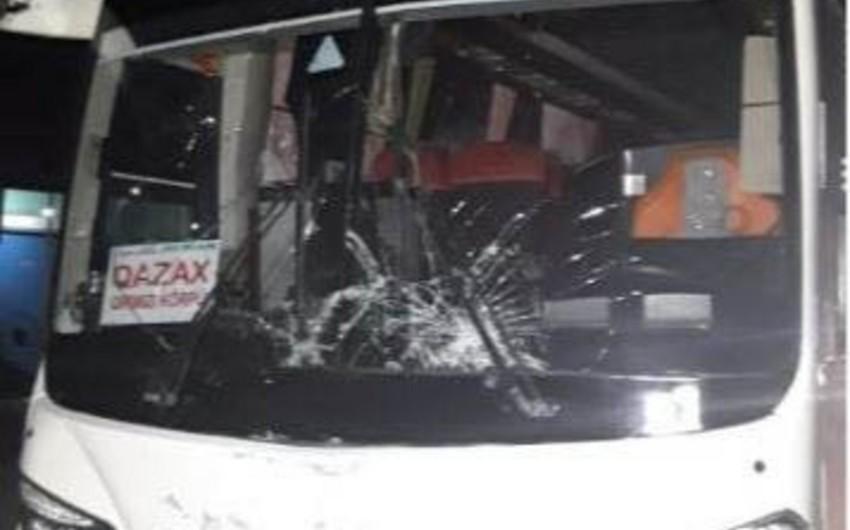 Ucarda avtobus piyadanı vuraraq öldürdü - VİDEO - ƏLAVƏ OLUNUB