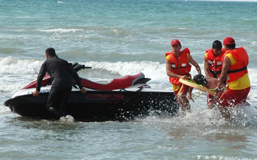 Xəzər dənizində 52 yaşlı kişi batdı