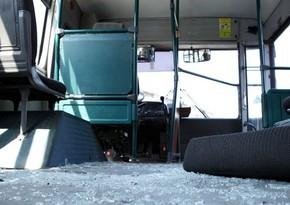 Bakıda iki avtobus toqquşub, xəsarət alanlar var