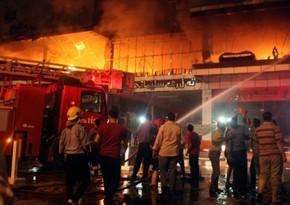 В результате взрыва и пожара в больнице в Багдаде погибли 28 человек