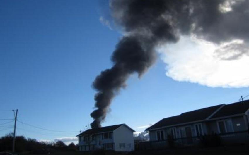 Kanadanın neft emalı zavodunda partlayış zamanı 4 nəfər yaralanıb