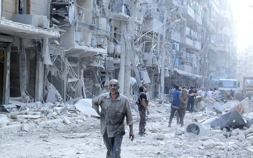 Suriyada raket atəşi nəticəsində dinc sakinlər xəsarət alıb