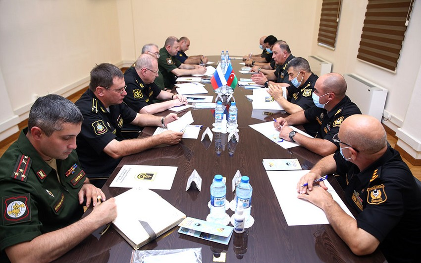 Deputy Defense Ministers of Azerbaijan, Russia hold meeting in Baku