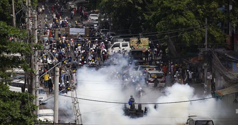 BMT: Myanmada hərbi çevriliş dövründə 54 nəfər öldürülüb