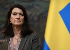 Swedish Foreign Minister welcomes end of hostilities in Karabakh