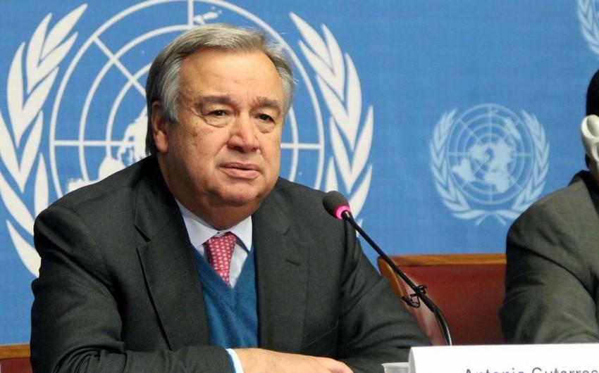 Генсек: ООН готова содействовать усилиям стран-сопредседателей Минской группы ОБСЕ