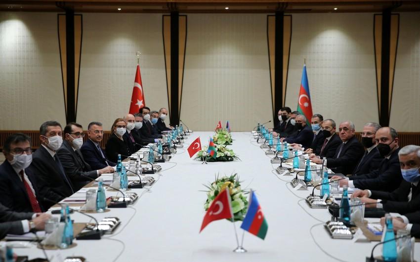 Türkiyə-Azərbaycan İqtisadi Əməkdaşlıq Komissiyasının iclası başlayıb