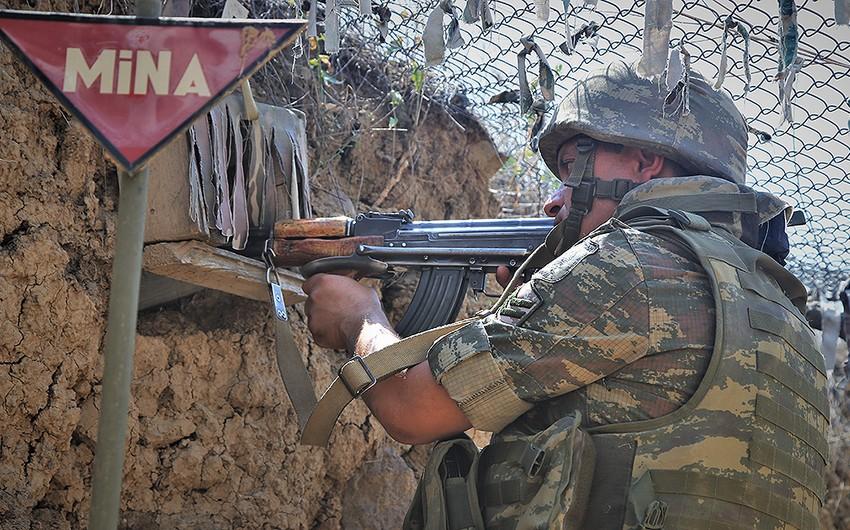 Ermənistan ordusuna məxsus silah-sursat anbarı məhv edilib