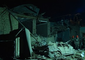 Armenia fired rocket at Ganja, killing 7 civilians, injuring 28