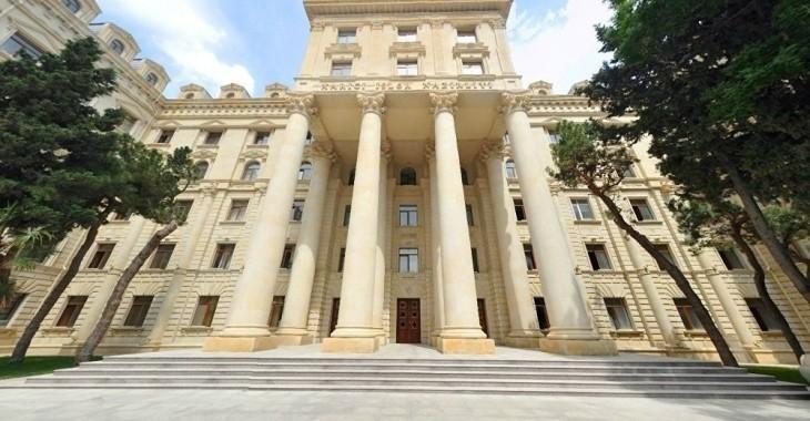МИД Азербайджана: Политизация Пашиняном спорта является попыткой прикрыть внутренние проблемы