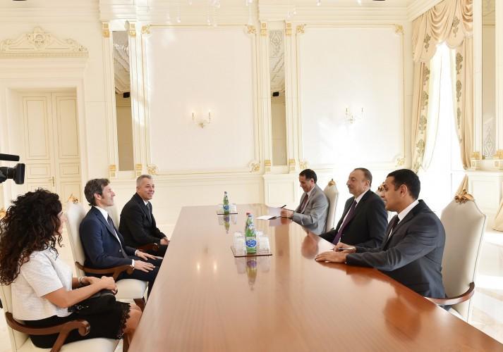 Azərbaycan Prezidenti San-Marino dövlətinin başçılarını qəbul edib